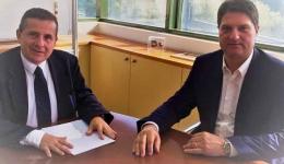 Μετάβαση του Δημάρχου στο Υπουργείο Περιβάλλοντος και Ενέργειας με σκοπό την αναγώριση του Πεταλιδίου ως οικισμό Γ' προτεραιότητας.