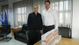 Προσφορά απο το προσωπικό του ΟΤΕ στο Κοινωνικό Παντοπωλείο του Δήμου Μεσσήνης